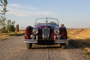 Jaguar XK140 restored by Vintage Jag Works